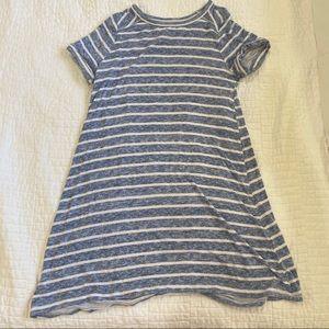 striped abercrombie kids dress